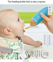 Soft Feeding Bottle Attach Wit Spoon   Baby & Child Care for sale in Lagos State, Amuwo-Odofin