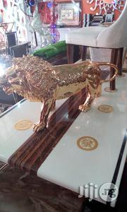 Pure Italian Quality Golden Lion Statue For The | Furniture for sale in Lagos State, Ikeja