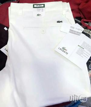 Lacoste Chinos Trouser Original   Clothing for sale in Lagos State, Victoria Island