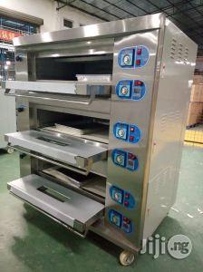 Industrial Gas Baking Oven 6 Trays 3 Deck ( 36 Bread Loaves Capacity ) | Industrial Ovens for sale in Lagos State, Ojo