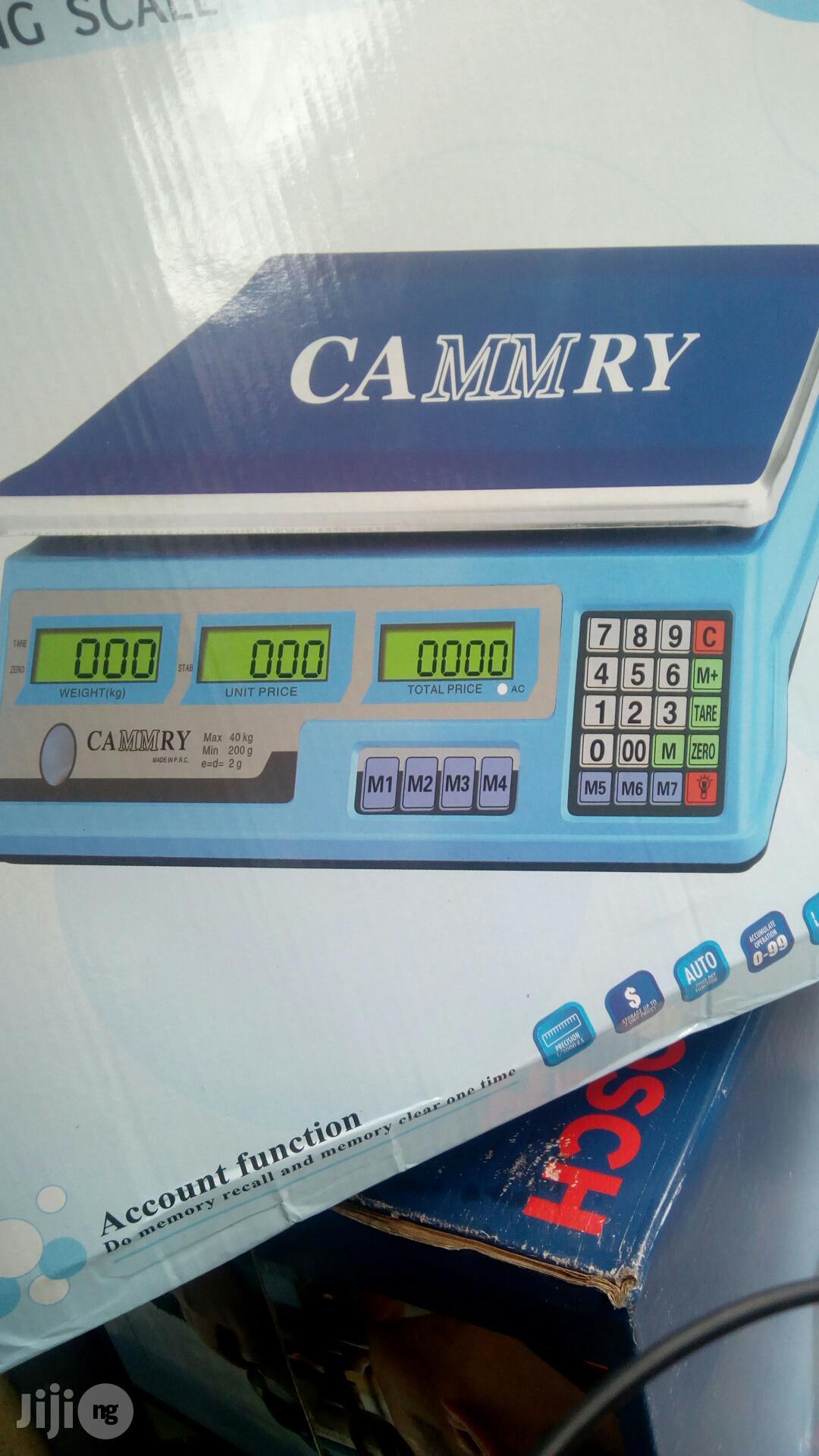 40kg Digital Scale Cammry