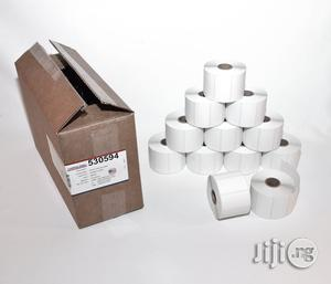 Barcode Label Paper For POS Barcode Printers - Pack Of 12 Rolls | Stationery for sale in Edo State