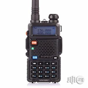 Baofeng Dual Band Two Way Radio - UV-5R - Black | Audio & Music Equipment for sale in Edo State