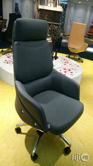 Black High Back Executive Chair   Furniture for sale in Lagos State, Lekki