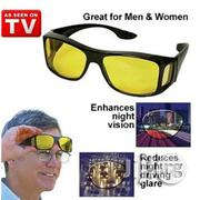 HD Wrap Around Night Driving Glasses | Clothing Accessories for sale in Lagos State, Alimosho