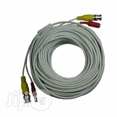 Pre-terminated Video And Power CCTV Cable With Connectors 100m