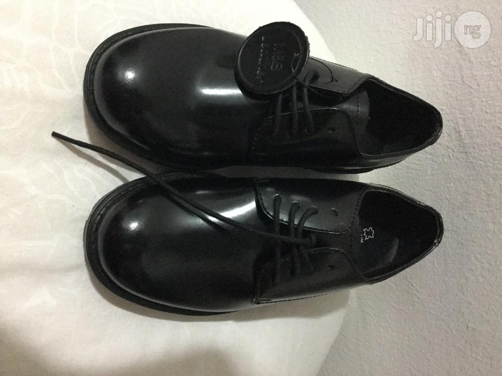 Clearance Sales Marks & Spencer Boys Patent Leather Oxford Lace Up
