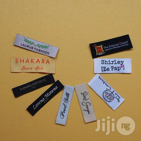 Promote Your Clothing Line With Top Notch Woven Cloth Label | Manufacturing Services for sale in Surulere, Lagos State, Nigeria