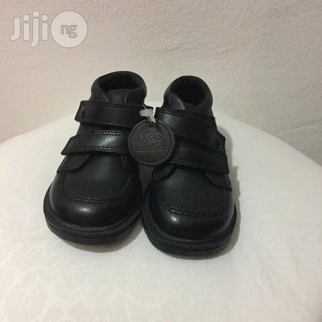 Clearance Sales Marks Spencer Back to School Boys Leather Shoes