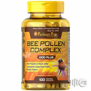 Bee Pollen Complex With Propolis and Royal Jelly for Wellness, Energy   Vitamins & Supplements for sale in Lagos State, Lekki