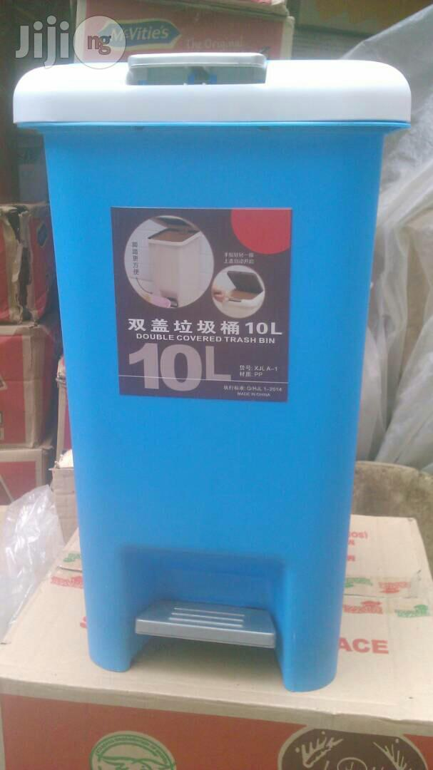 High Quality Unique 10litr Plastic Step Pedal Waste Bin