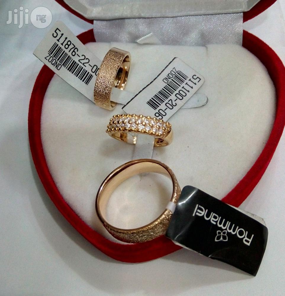 Brand New Romania Gold Engagement/Wedding Ring 01
