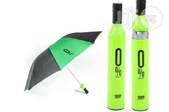 Wine Bottle Umbrella Design