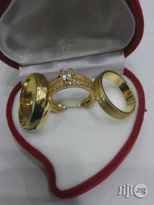 Exotic Brand New Romania Gold Engagement Wedding Ring RG2 | Wedding Wear & Accessories for sale in Lagos State