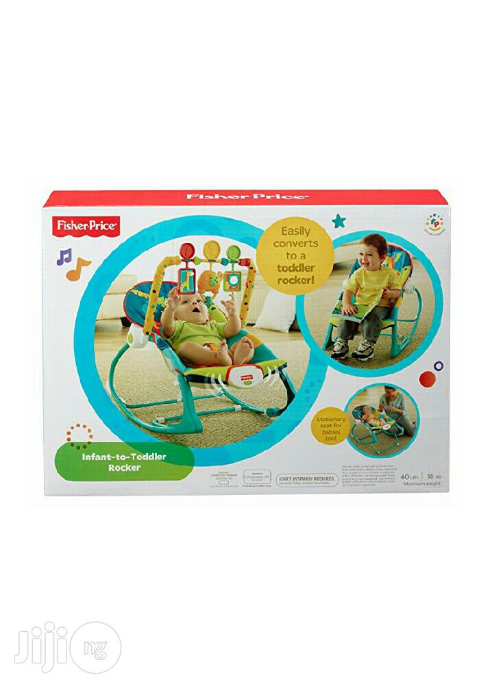 Fisher Price Infant to Toddler Rocker(US) | Children's Gear & Safety for sale in Ikeja, Lagos State, Nigeria