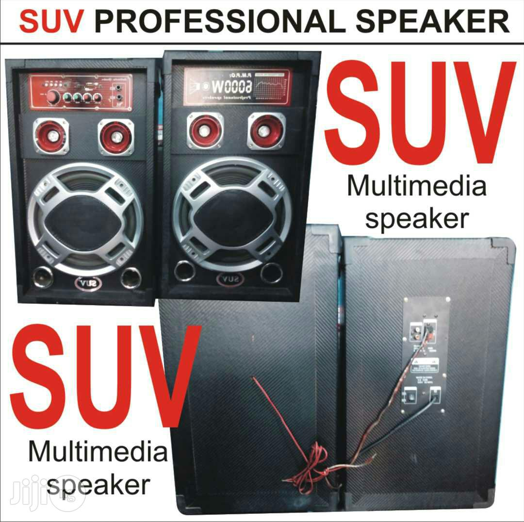 SUV Professional Speaker. Multimedia Speaker With USB