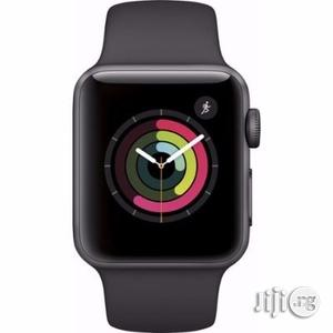 Apple Series 2 42mm Aluminum Sport Band Watch - Space Gray   Smart Watches & Trackers for sale in Lagos State, Ikorodu
