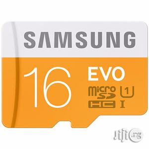 Samsung 16GB Micro SD Card   Accessories for Mobile Phones & Tablets for sale in Lagos State, Ikorodu
