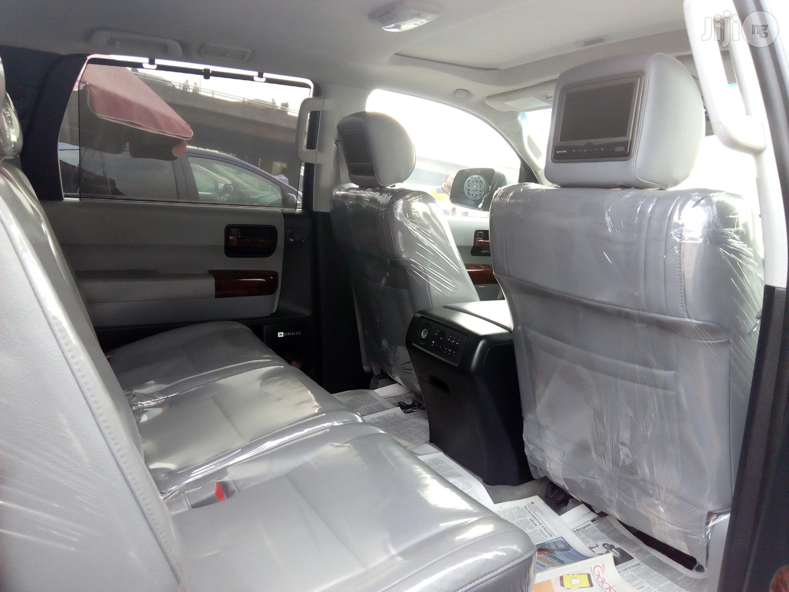 Toyota Sequoia 2012 Gray   Cars for sale in Apapa, Lagos State, Nigeria