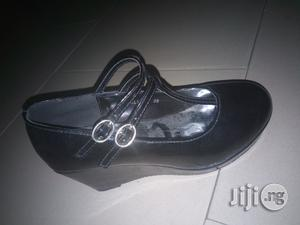 Beautiful Black Wedge Size 35 (Wholesale And Retail)   Children's Shoes for sale in Lagos State