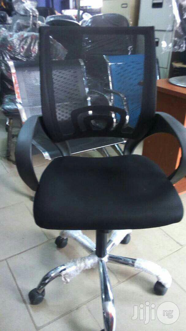 Vigor Swivel Ergonomic Chair With Chrome Legs