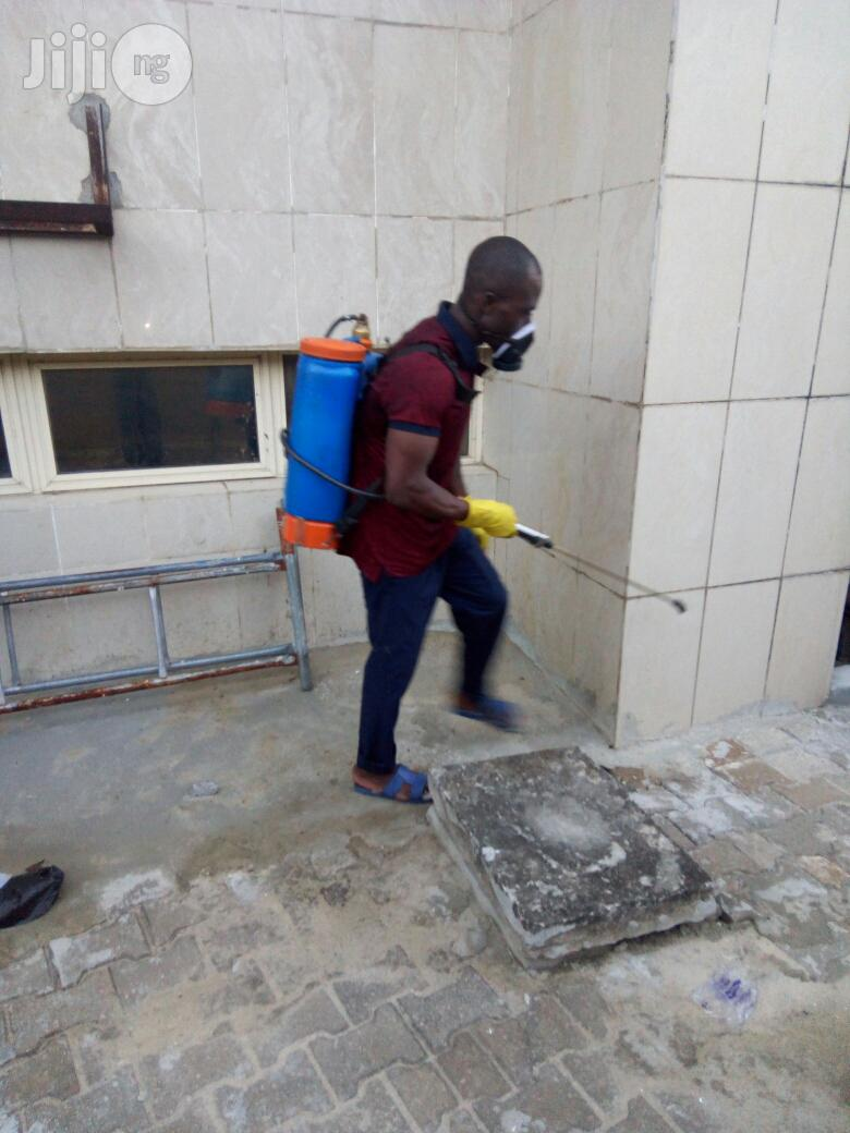 Fumigation/Cleaning /Tiles Polishing