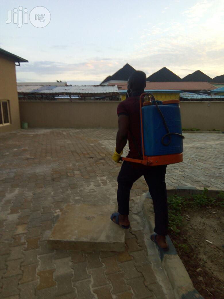Fumigation/Cleaning /Tiles Polishing | Cleaning Services for sale in Yaba, Lagos State, Nigeria