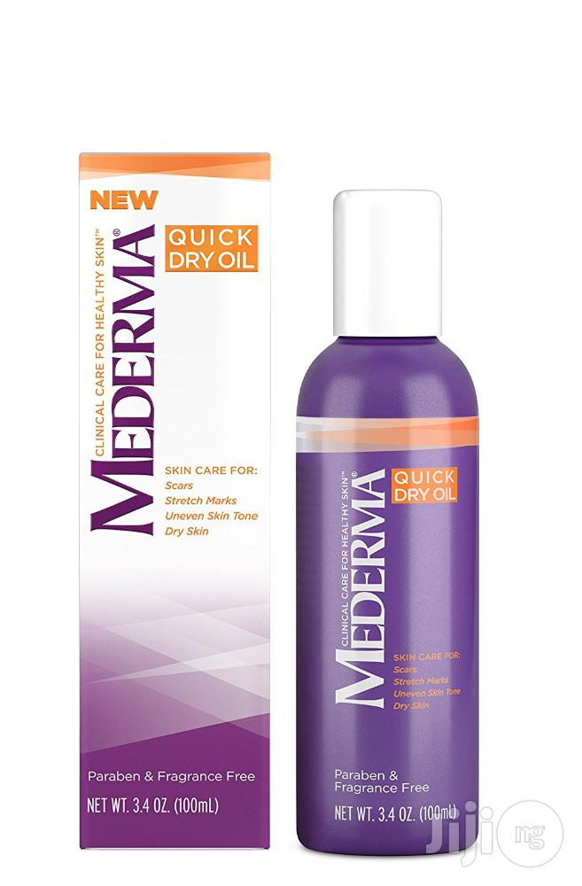 Mederma Quick Dry Oil – Improve the Appearance of Scars,Stretch Marks