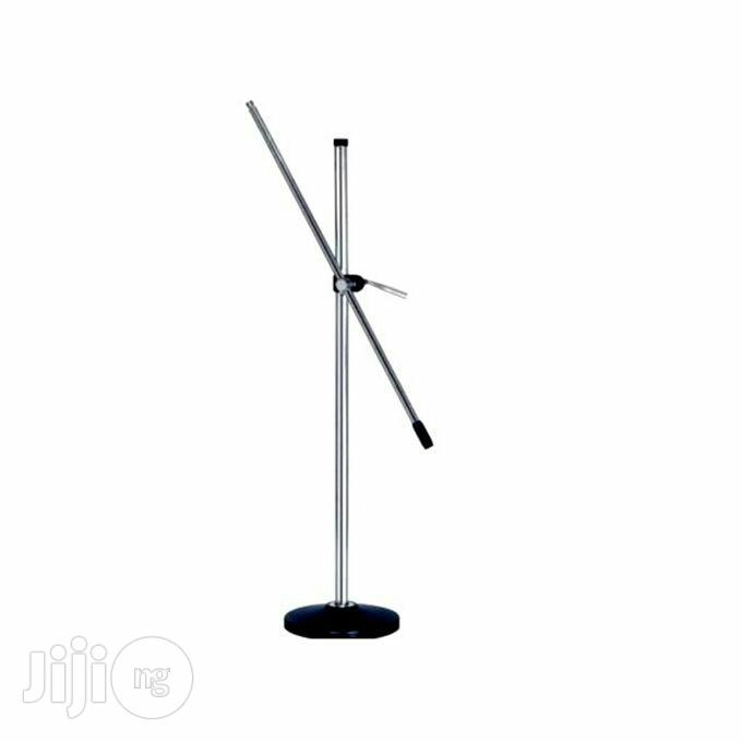 Universal Round-base Microphone Stand
