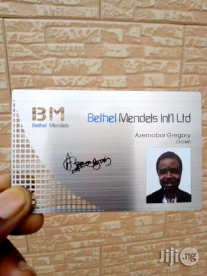 Professional Metal ID Card | Computer & IT Services for sale in Lagos State, Ikeja