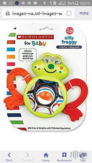 Scholastic Silly Froggy Rattle | Toys for sale in Lagos State, Ikeja