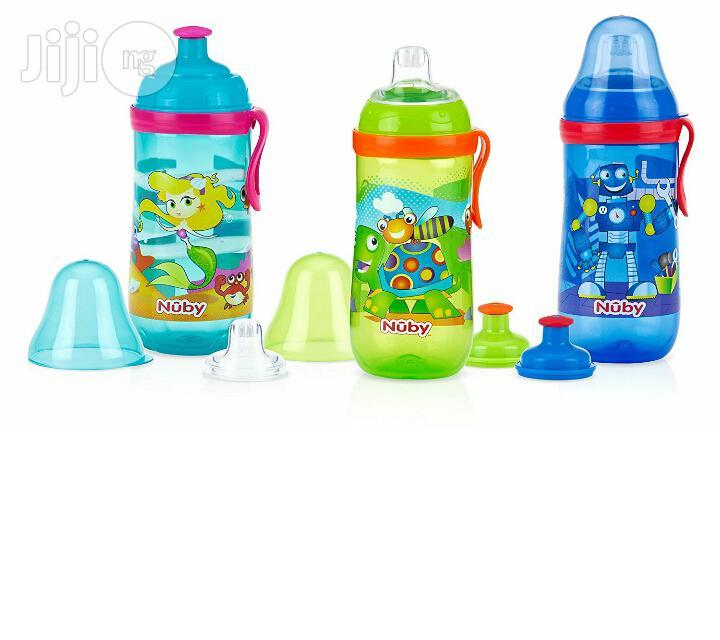 Nuby Busy Sipper Water Bottle