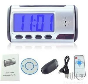 Portable Alarm Clock Spy Camera DVR With Motion Detection | Security & Surveillance for sale in Abia State