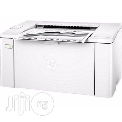 Archive: HP Laserjet Printer Pro 102a Fast Printer - White