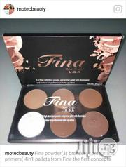 Fina Powder Pallete With Primer | Makeup for sale in Lagos State, Amuwo-Odofin