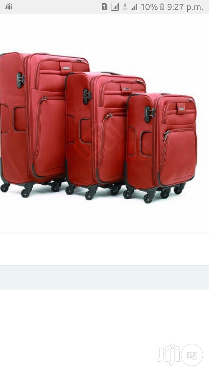 Leaves King Luggage 3 In 1