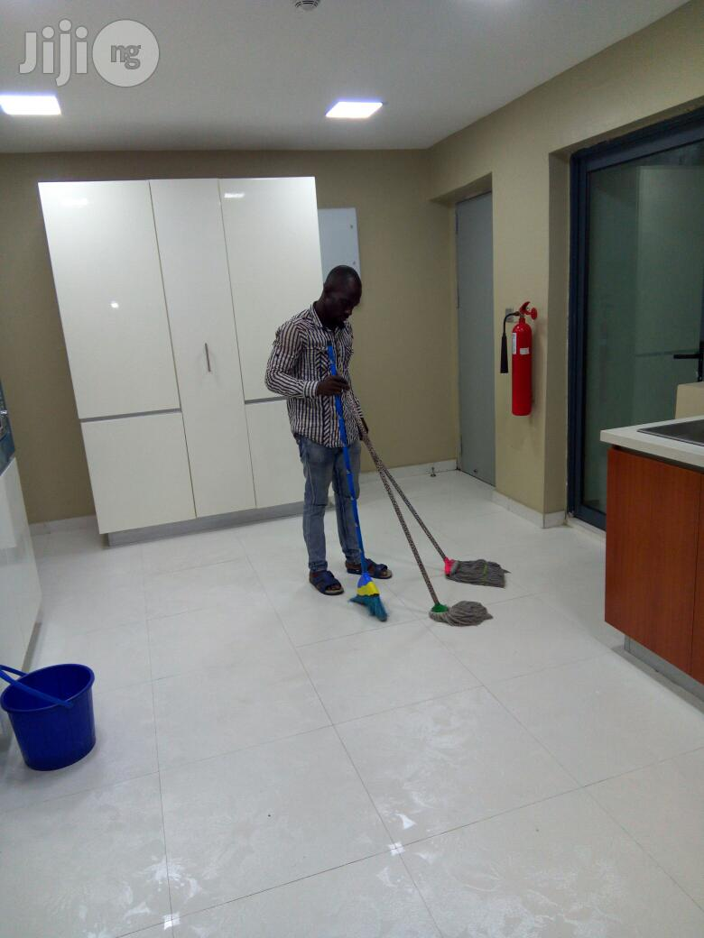 Cleaning/Fumigation /Tiles Polishing