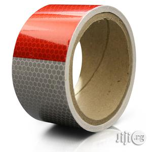 Safety Reflective Tape - Red & White - 2 Inches By 5 Yards   Safetywear & Equipment for sale in Abia State