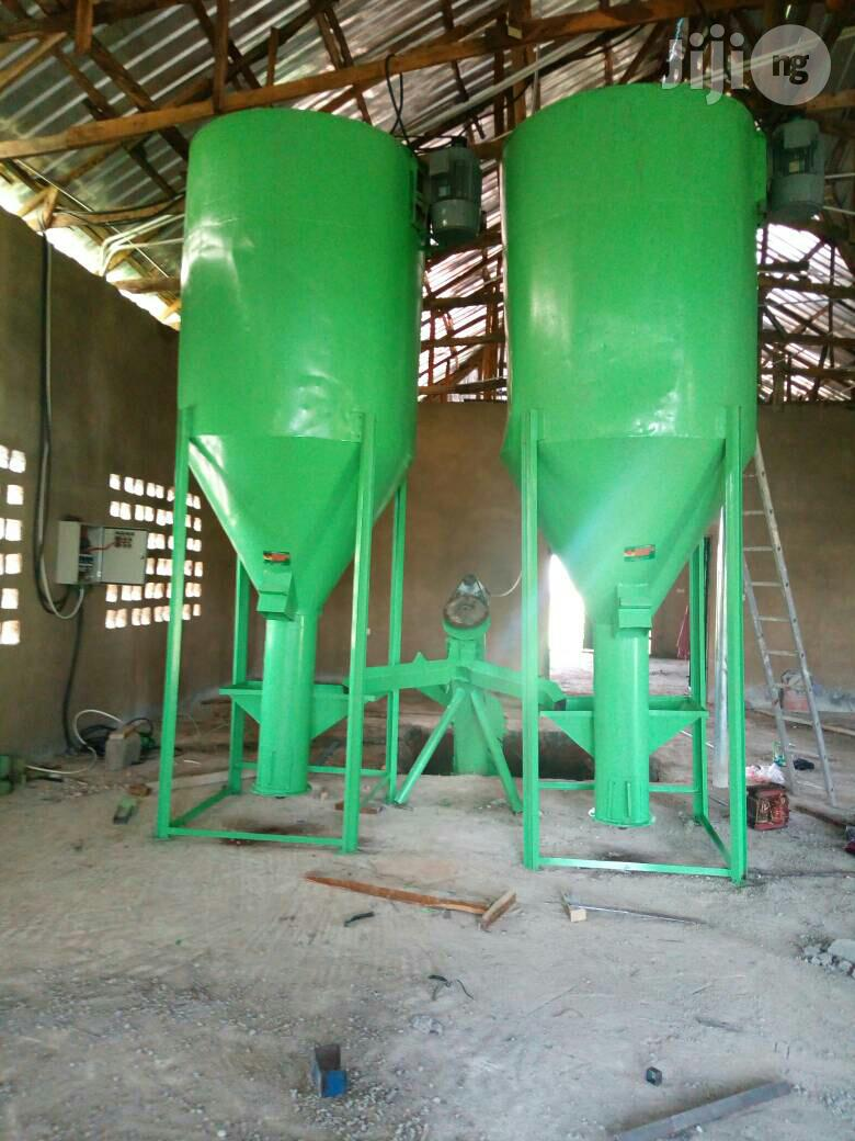 Feed Mill Machine For Poultry