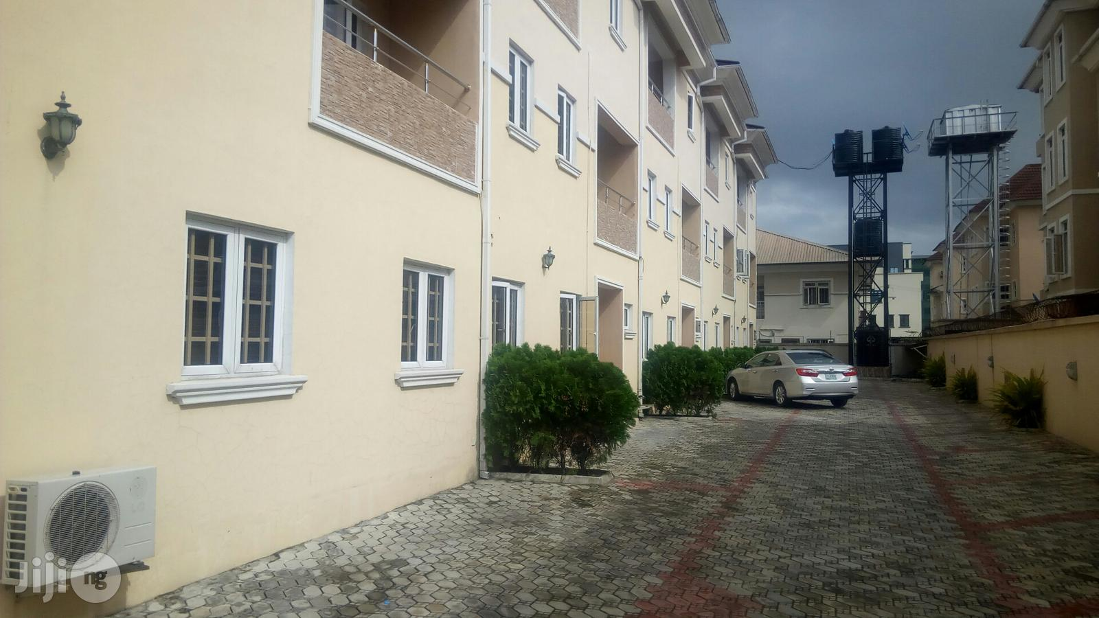A Service 4 Bedroom Townhouse With an Attached One Room Staff Quarters on Ihuntayo Street, Oniru Estate, Lagos