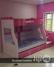 High Glossy Laminated Bunk Bed | Furniture for sale in Abuja (FCT) State, Asokoro