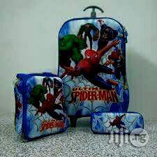 Kids 3 In 2 Trolley School Bags | Babies & Kids Accessories for sale in Lagos State, Ikeja