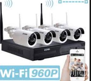 Wifi 4ch CCTV HD Nvr KIT | Security & Surveillance for sale in Lagos State, Ikeja