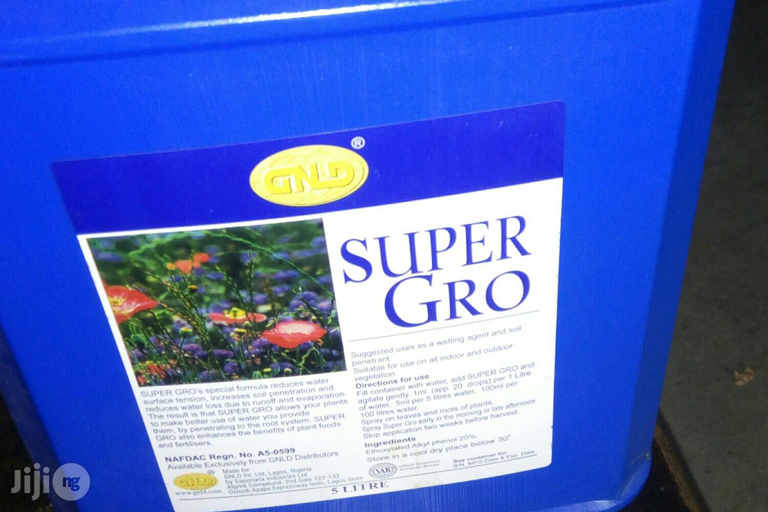 Super Gro Fertilizer   Feeds, Supplements & Seeds for sale in Central Business Dis, Abuja (FCT) State, Nigeria
