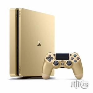 Sony Playstation 4 Slim Console 1tb-gold (Black Friday) | Video Game Consoles for sale in Lagos State