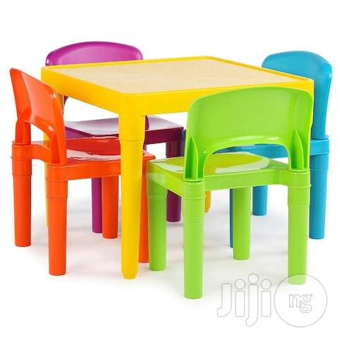 Quality Plastic Chair & Table For Kids