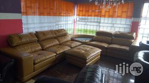 L Shape Leather Chair | Furniture for sale in Lagos State, Ojo