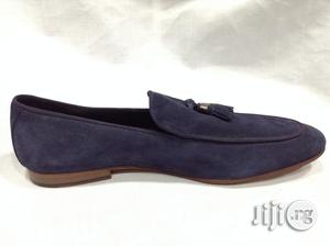 Fashionable Men Blue Suede Shoe   Shoes for sale in Lagos State, Surulere