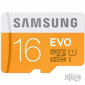 EVO Class 10 Micro Sdhc Memory Card 16GB   Accessories for Mobile Phones & Tablets for sale in Lagos State, Ikorodu