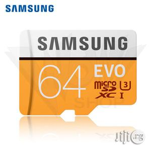 Samsung EVO MB-MP64D Memory Card   Accessories for Mobile Phones & Tablets for sale in Lagos State